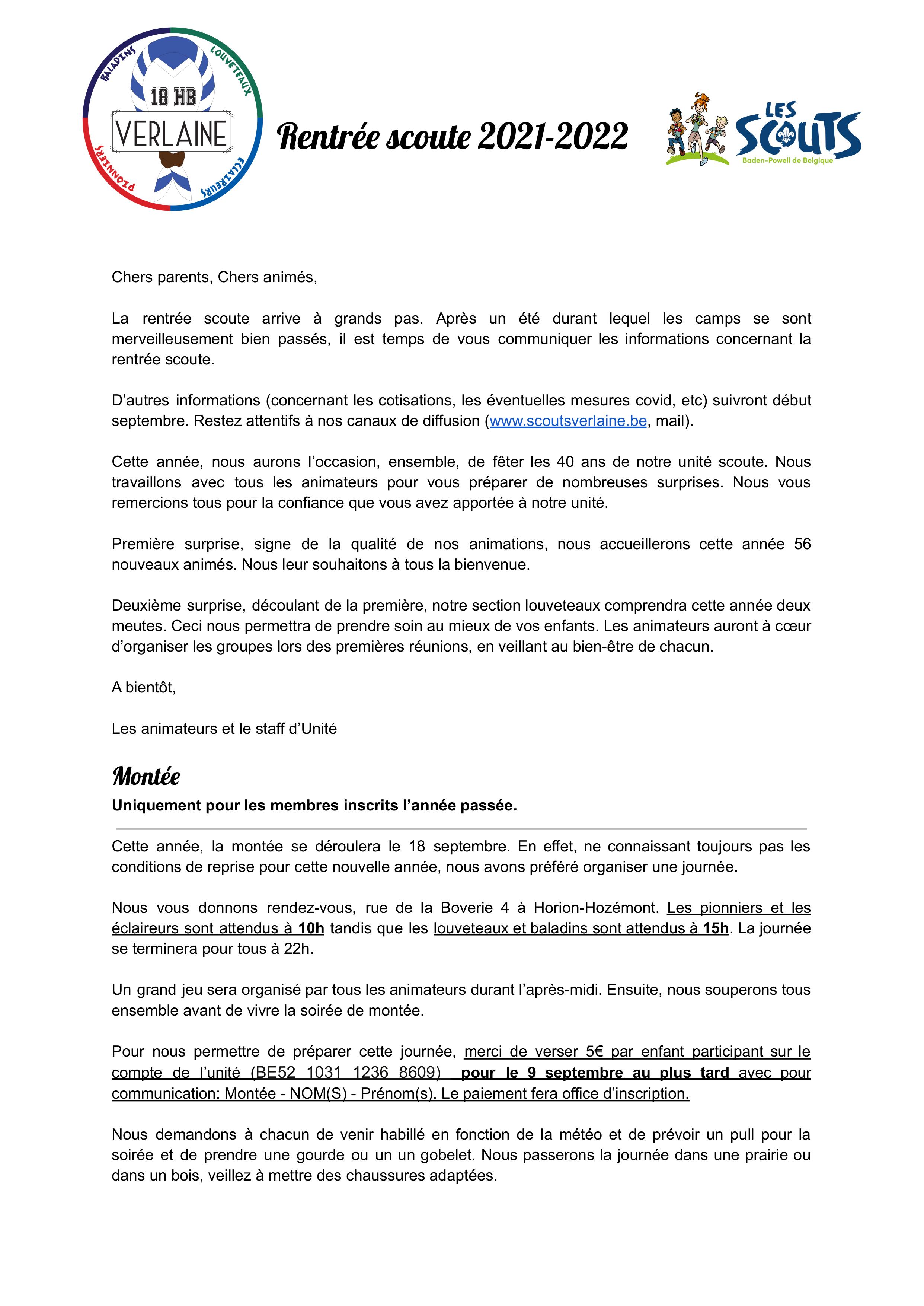 Rentrée scoute 2021-2022 - page 1